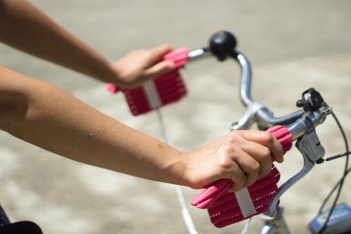 Handsi (pink) Fahrrad weit