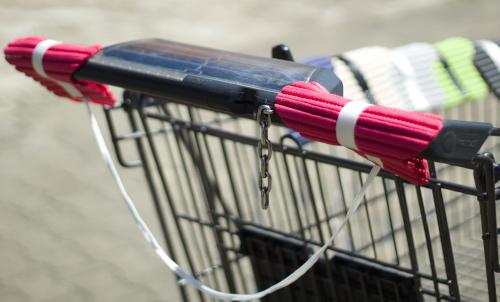 Handsi (pink) Einkaufswagen weit