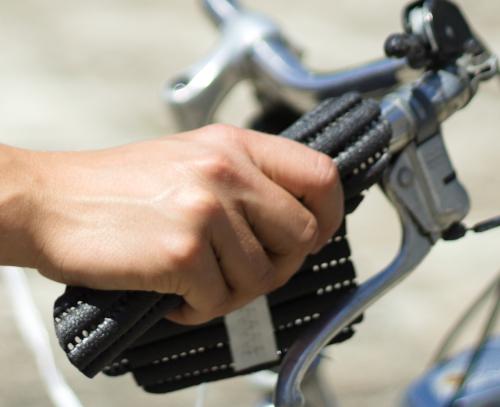 Handsi (schwarz) Fahrrad nah