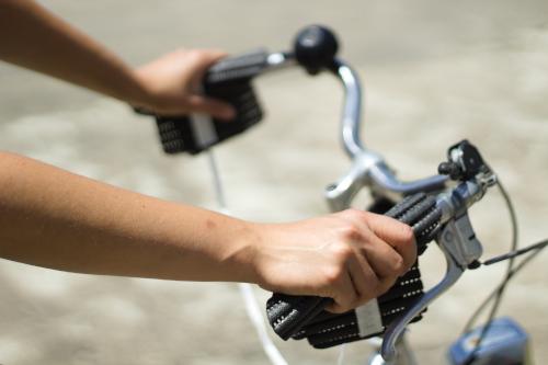Handsi (schwarz) Fahrrad weit